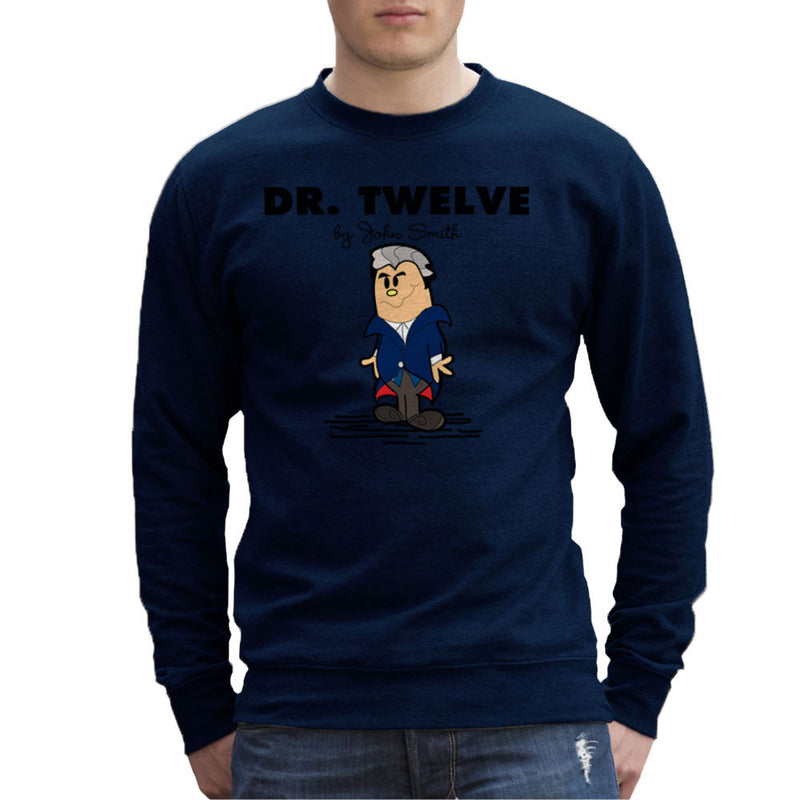 Dr Twelve Doctor Who Peter Capaldi Mr Men Men's Sweatshirt by TopNotchy - Cloud City 7