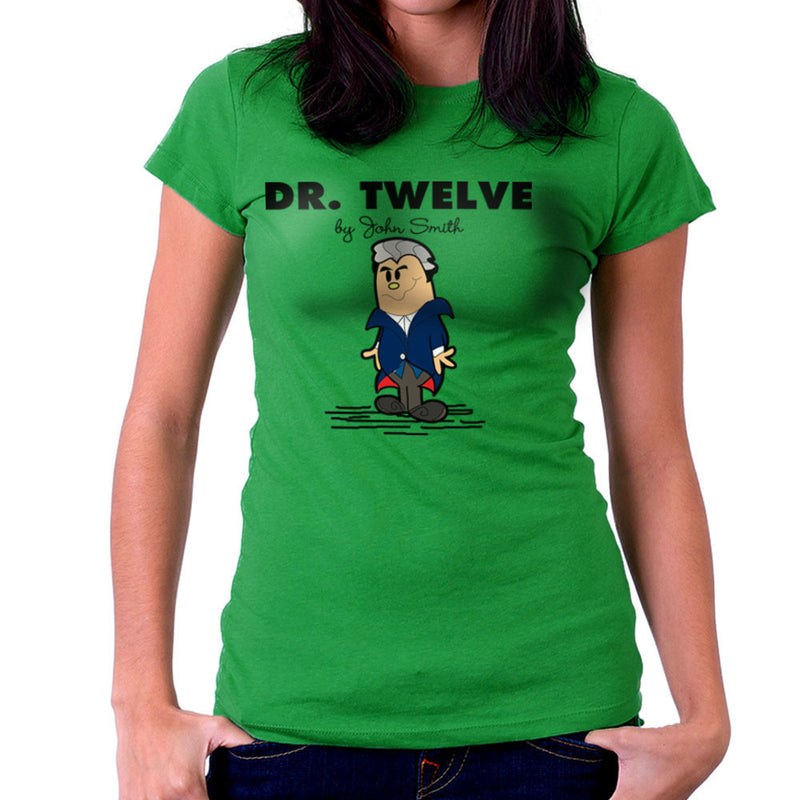 Dr Twelve Doctor Who Peter Capaldi Mr Men Women's T-Shirt by TopNotchy - Cloud City 7