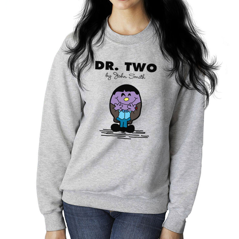 Dr Two Doctor Who Patrick Troughton Women's Sweatshirt by TopNotchy - Cloud City 7
