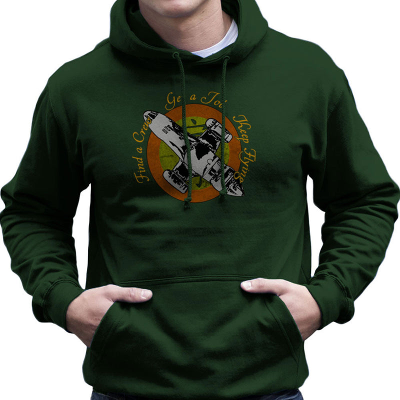 Firefly Find A Crew Get A Job Keep Flying Men's Hooded Sweatshirt by Sillicus - Cloud City 7