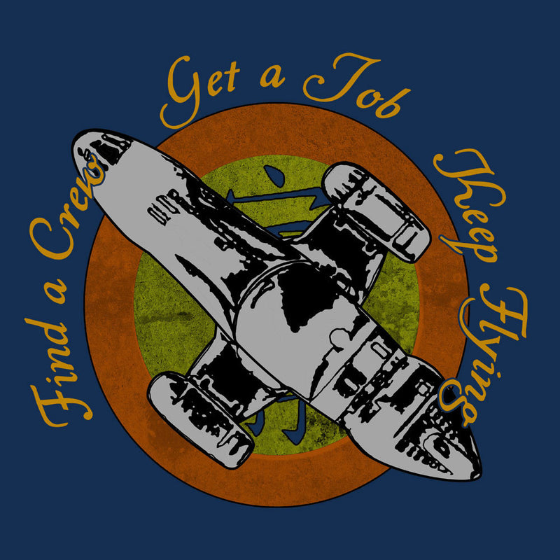 Firefly Find A Crew Get A Job Keep Flying Men's Vest by Sillicus - Cloud City 7