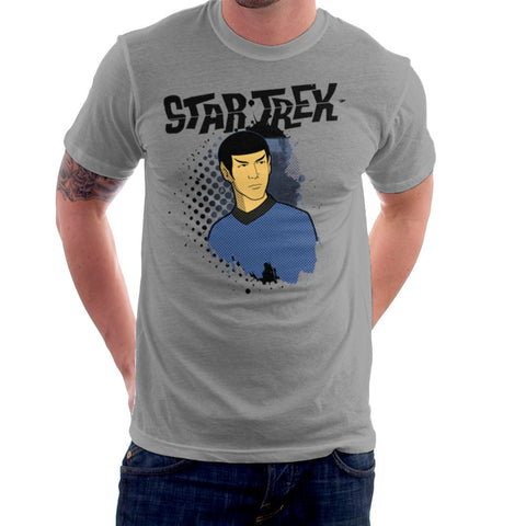 Star Trek Animated Grunge Spock