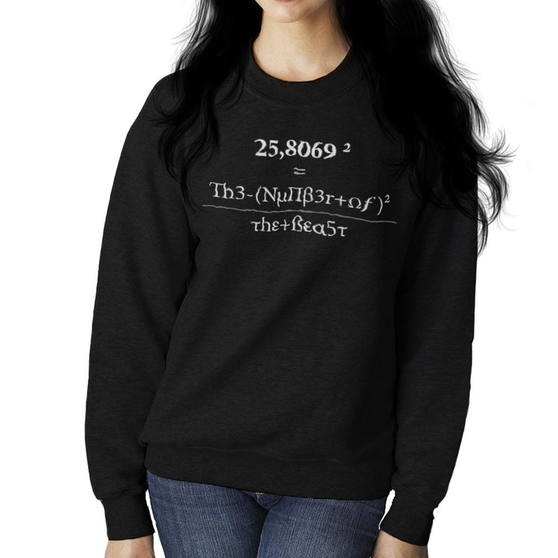 666 The Number of the Beast Women's Sweatshirt by DarkChoocoolat - Cloud City 7
