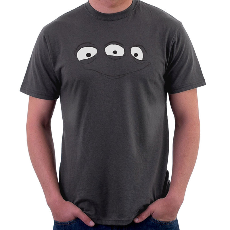 Alien Face Three Eyes Men's T-Shirt by DarkChoocoolat - Cloud City 7