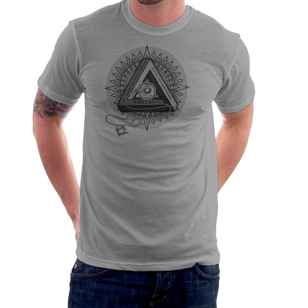 All Seeing Eye of Providence Black design Cloud City 7 - 2
