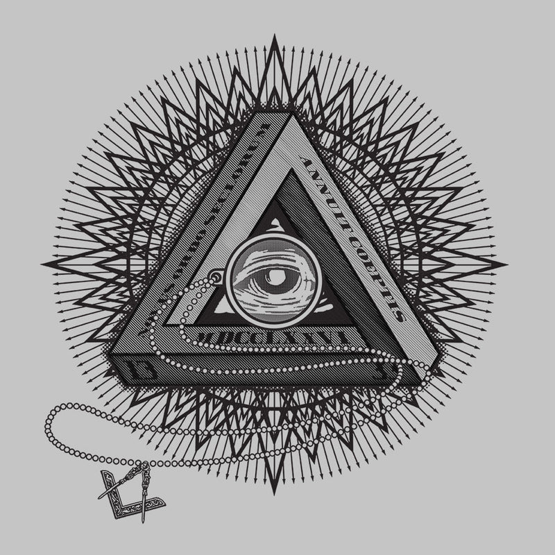 All Seeing Eye of Providence Black Men's Vest by DarkChoocoolat - Cloud City 7