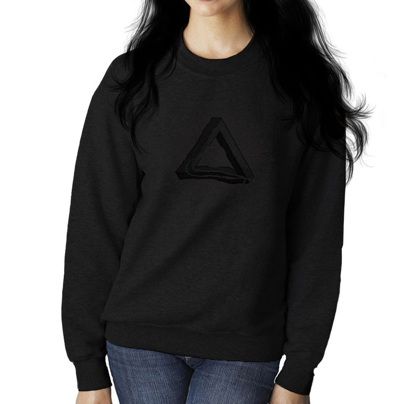 All Seeing Eye of Providence Black Women's Sweatshirt by DarkChoocoolat - Cloud City 7