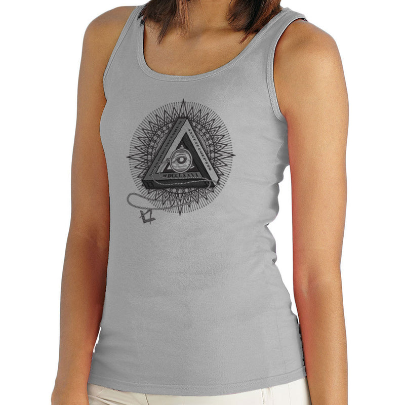 All Seeing Eye of Providence Black Women's Vest by DarkChoocoolat - Cloud City 7