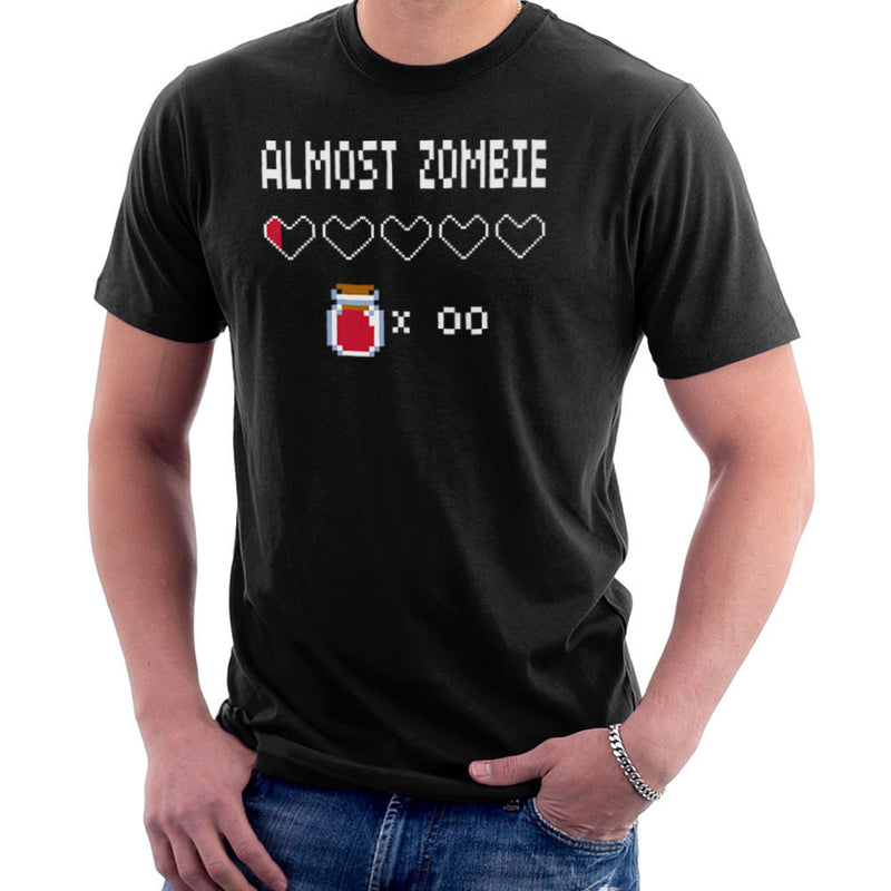 Almost Zombie Men's T-Shirt by DarkChoocoolat - Cloud City 7