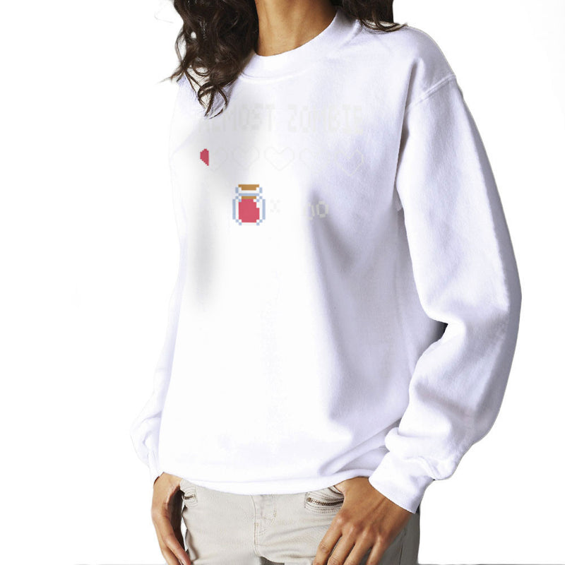 Almost Zombie Women's Sweatshirt by DarkChoocoolat - Cloud City 7