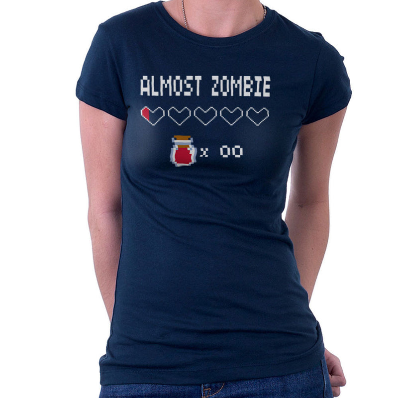 Almost Zombie Women's T-Shirt by DarkChoocoolat - Cloud City 7