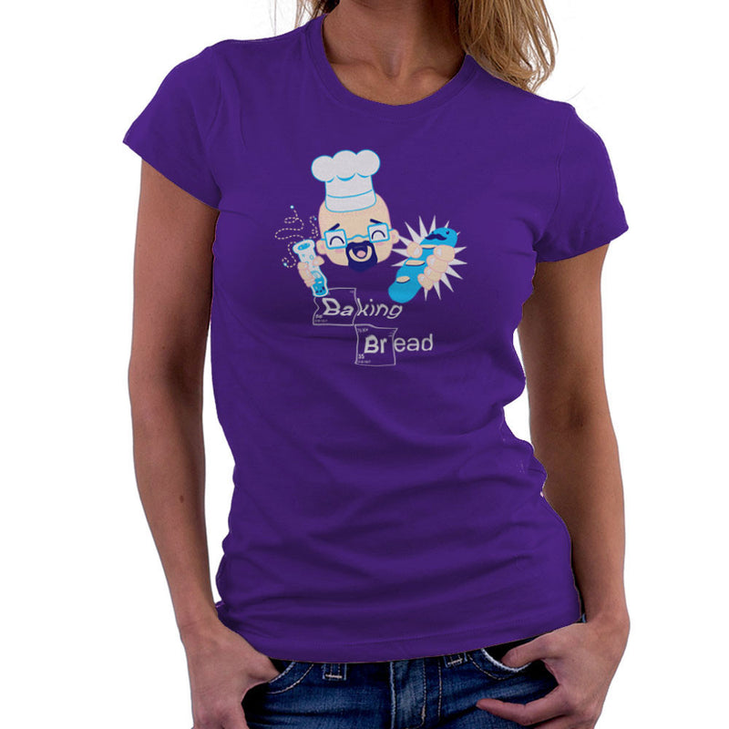 Baking Kawaii Bread Breaking Bad Heisenberg Women's T-Shirt by DarkChoocoolat - Cloud City 7