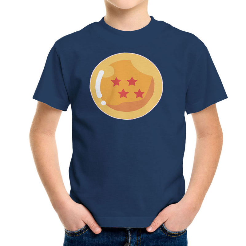 Dragon Ball Z Four Stars Kid's T-Shirt by DarkChoocoolat - Cloud City 7