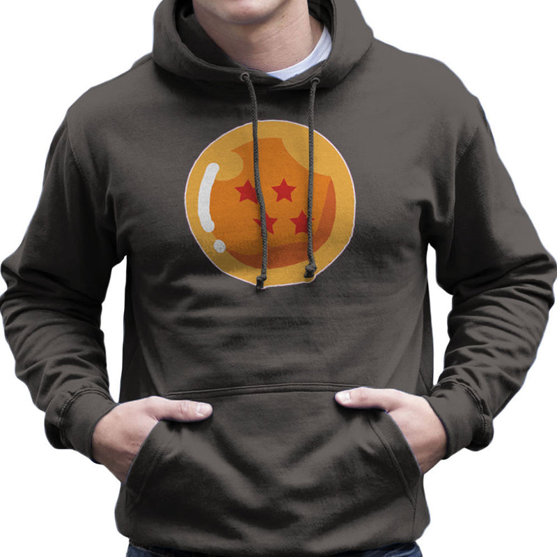 Dragon Ball Z Four Stars Men's Hooded Sweatshirt by DarkChoocoolat - Cloud City 7