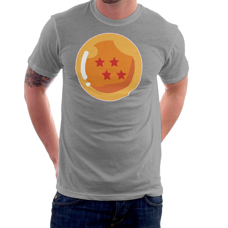 Dragon Ball Z Four Stars Men's T-Shirt by DarkChoocoolat - Cloud City 7