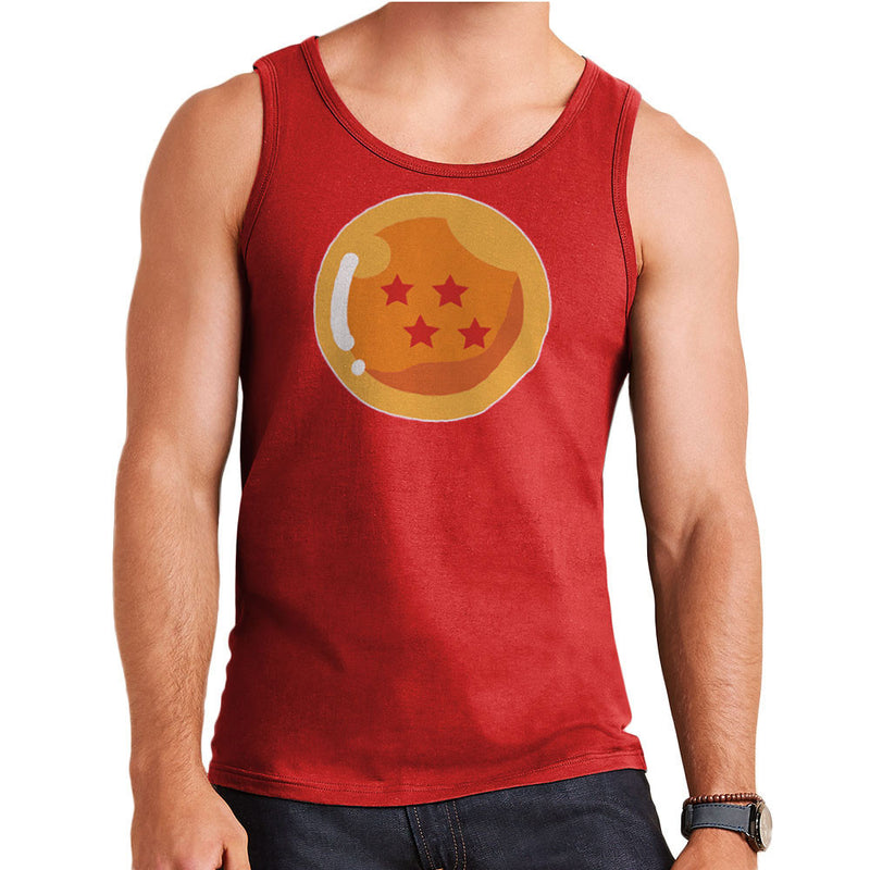 Dragon Ball Z Four Stars Men's Vest by DarkChoocoolat - Cloud City 7