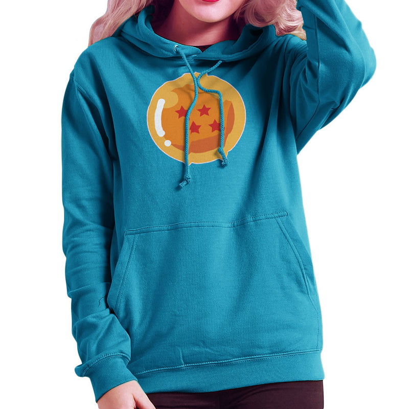 Dragon Ball Z Four Stars Women's Hooded Sweatshirt by DarkChoocoolat - Cloud City 7