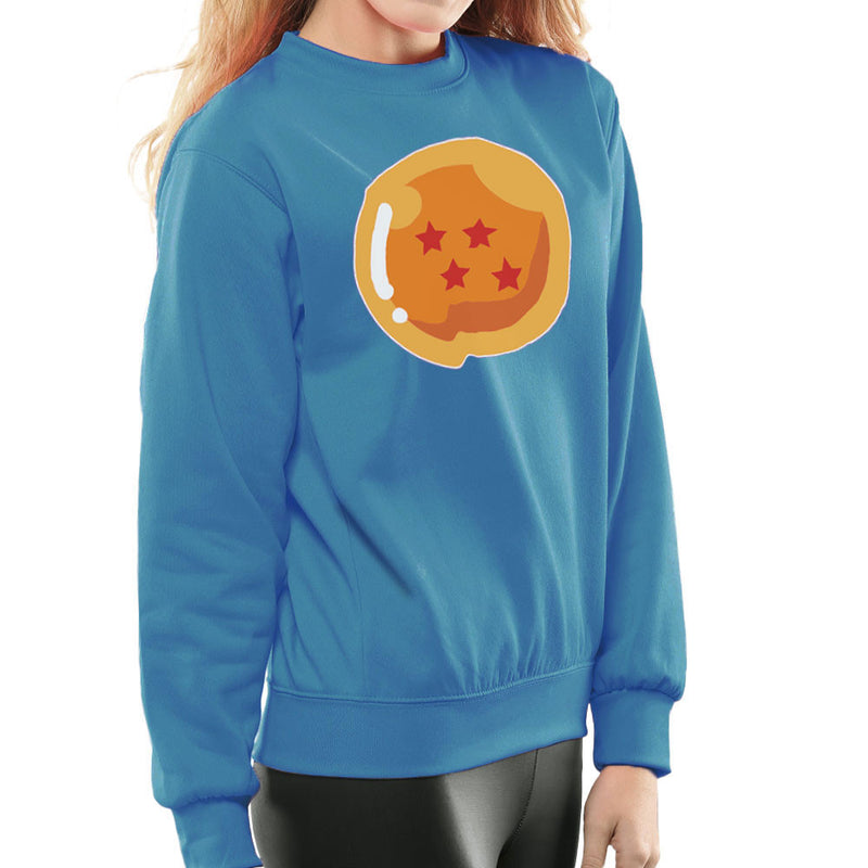Dragon Ball Z Four Stars Women's Sweatshirt by DarkChoocoolat - Cloud City 7