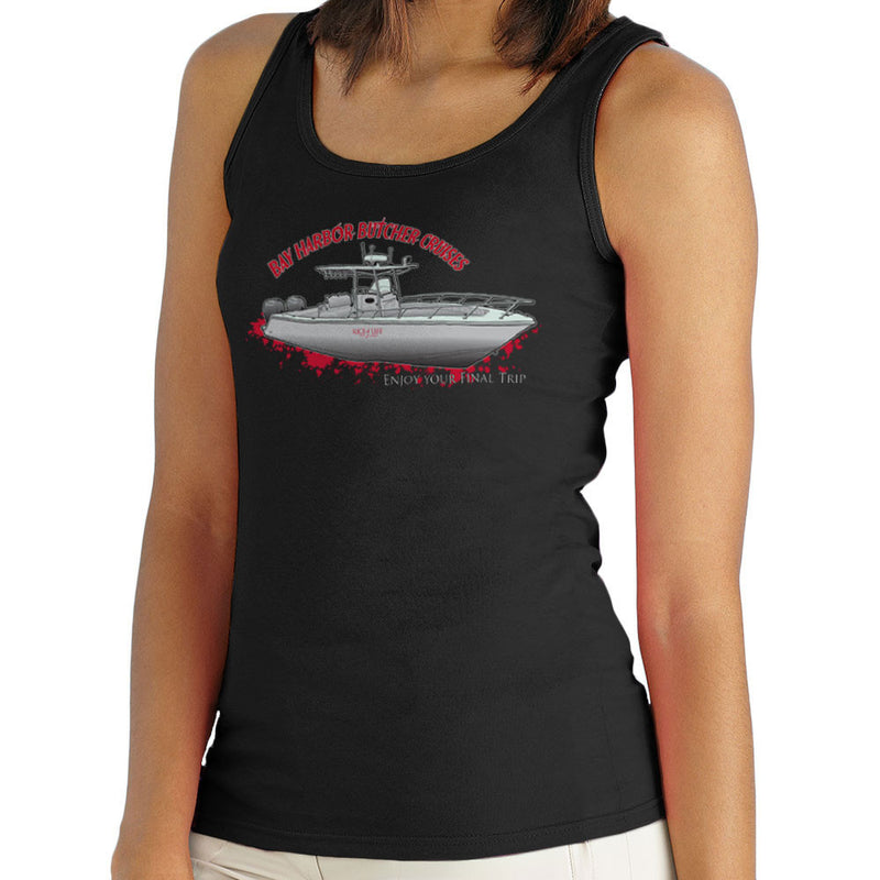 Bay Harbour Butcher Cruises Dexter Women's Vest by DarkChoocoolat - Cloud City 7
