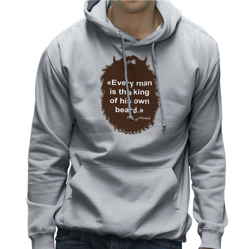 The Beard Collection Every Man Men's Hooded Sweatshirt by DarkChoocoolat - Cloud City 7