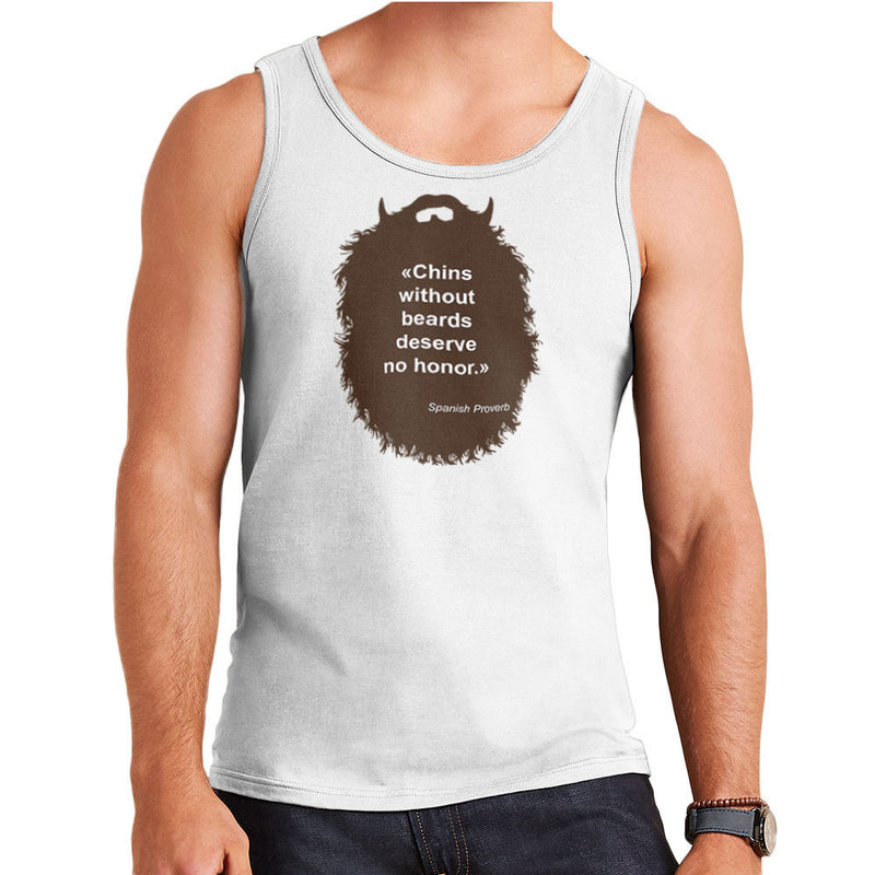 The Beard Collection No Honor Men's Vest by DarkChoocoolat - Cloud City 7