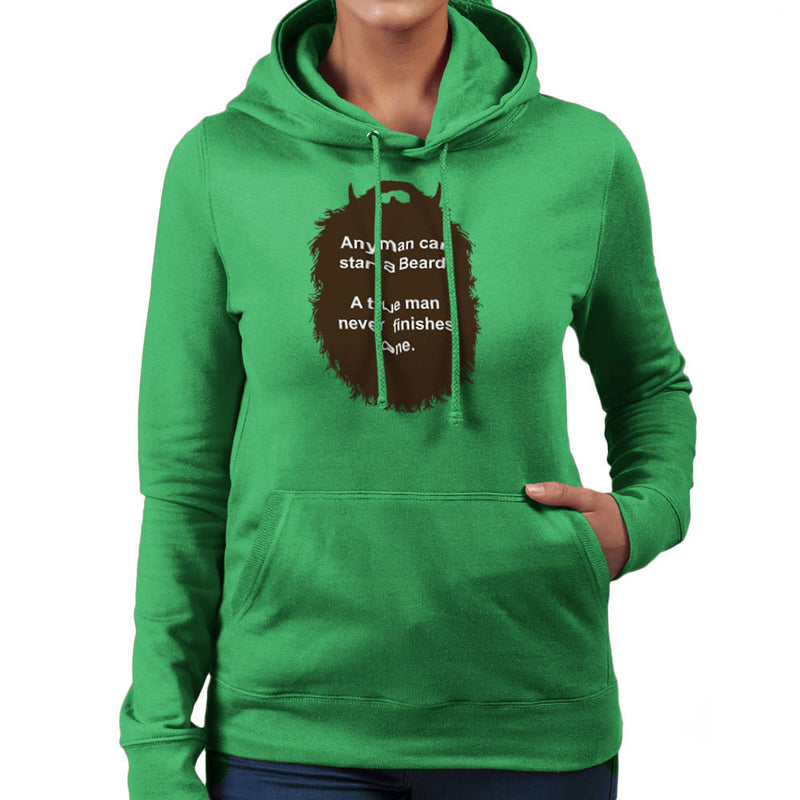 The Beard Collection Start a Beard Women's Hooded Sweatshirt by DarkChoocoolat - Cloud City 7