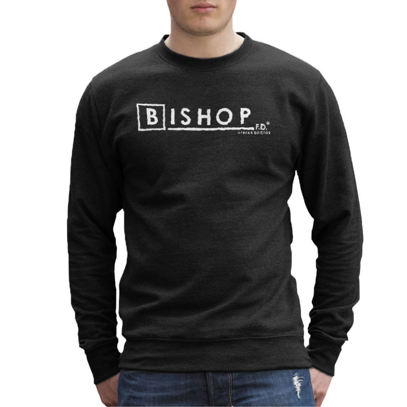 Bishop FD Freak Doctor Fringe Men's Sweatshirt by DarkChoocoolat - Cloud City 7