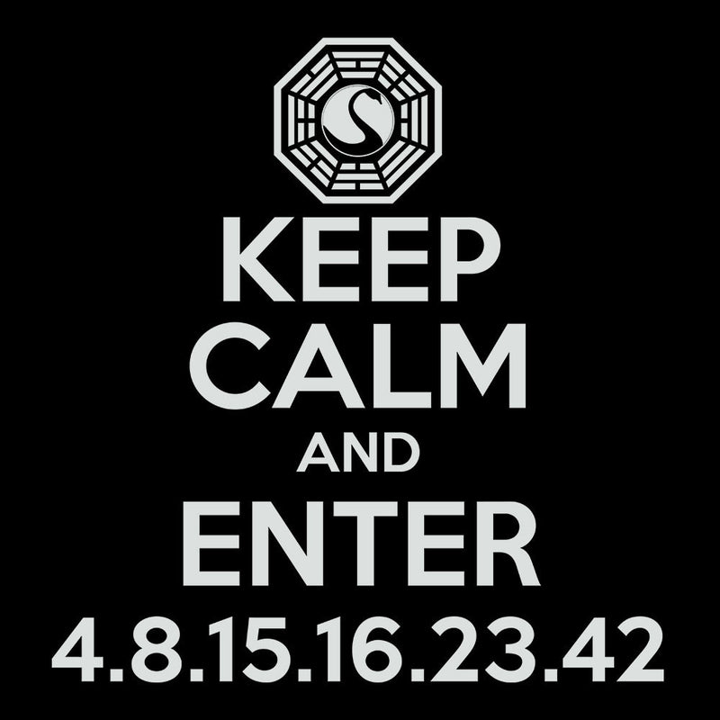 Keep Calm and Enter Dharma Initiative Lost Light Men's Vest by DarkChoocoolat - Cloud City 7