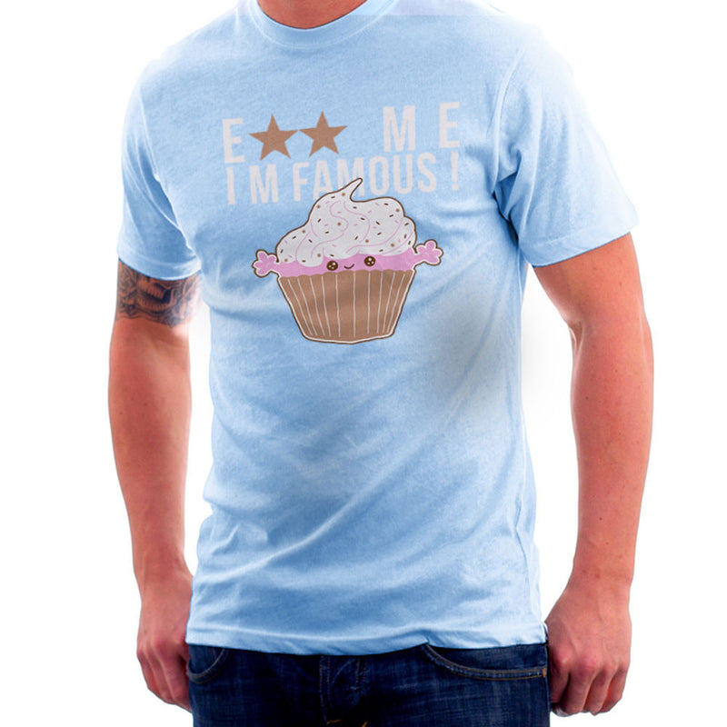 Eat Me Im Famous Cupcake Men's T-Shirt by DarkChoocoolat - Cloud City 7