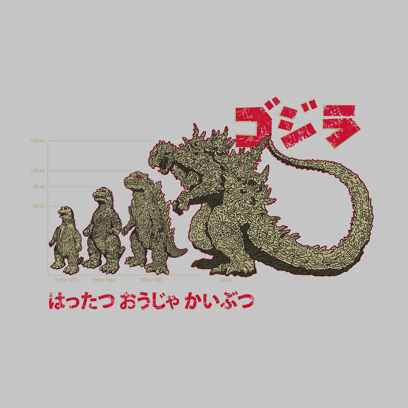 Evolution The King Of Monsters Godzilla by DarkChoocoolat - Cloud City 7
