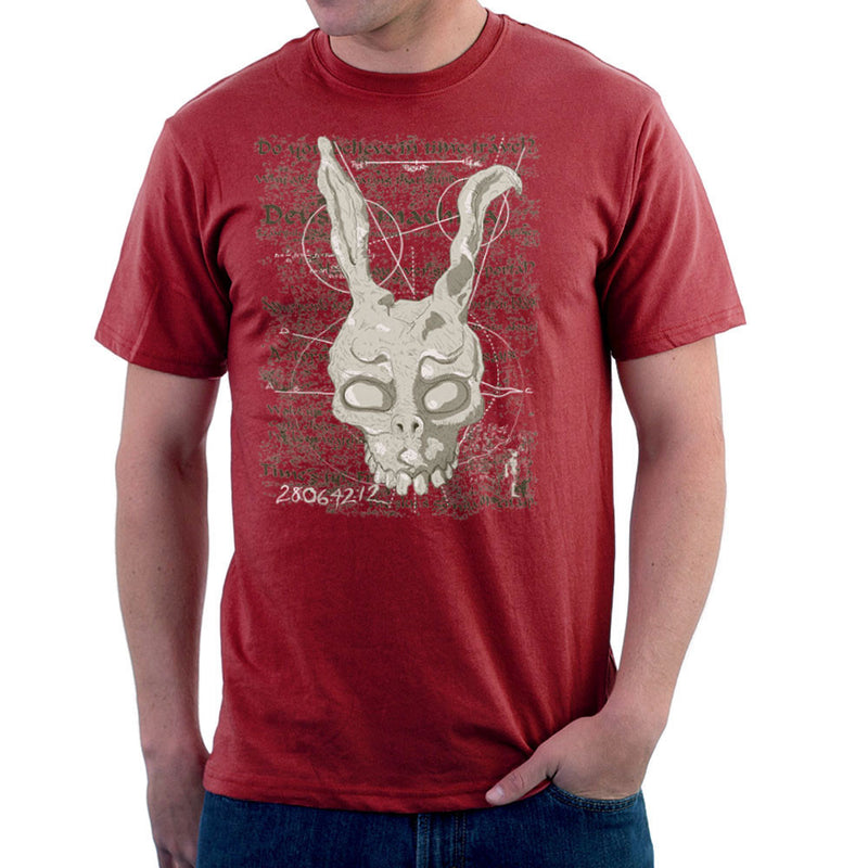 Franks Prophecy Donnie Darko Men's T-Shirt by DarkChoocoolat - Cloud City 7