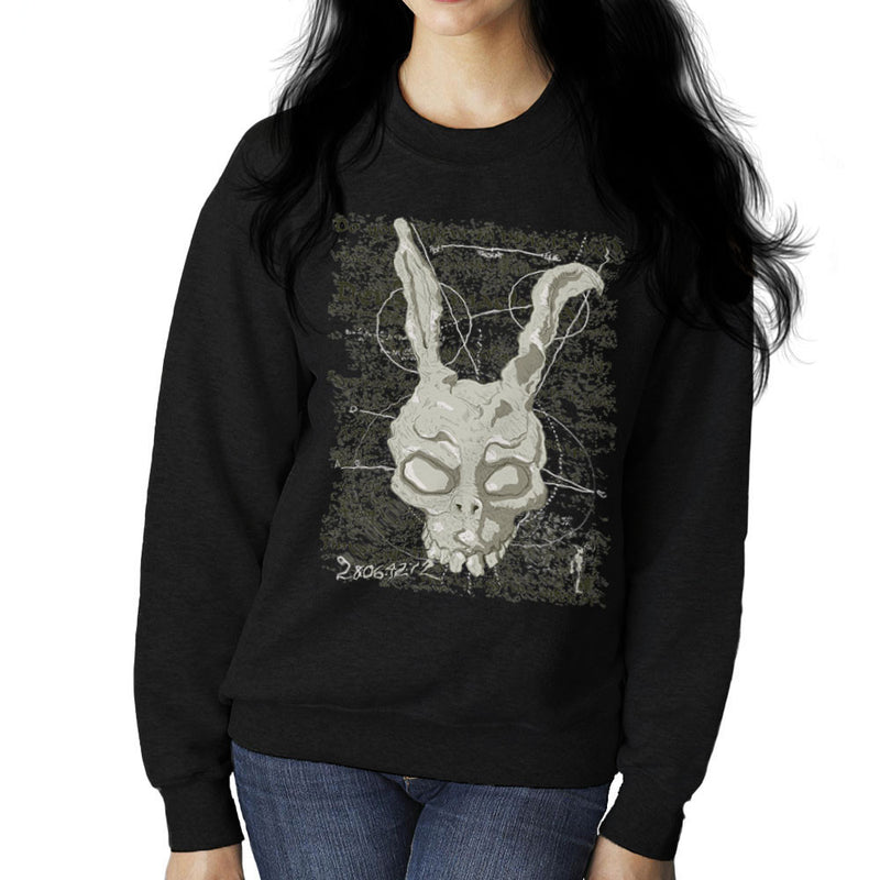 Franks Prophecy Donnie Darko Women's Sweatshirt by DarkChoocoolat - Cloud City 7