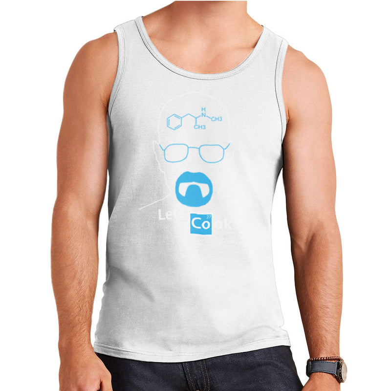 Breaking Bad Heisenberg Lets Cook Men's Vest by DarkChoocoolat - Cloud City 7