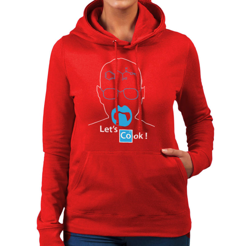 Breaking Bad Heisenberg Lets Cook Women's Hooded Sweatshirt by DarkChoocoolat - Cloud City 7
