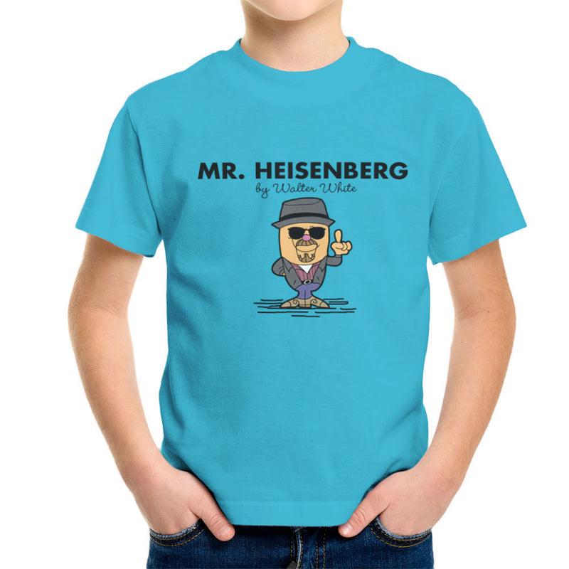 Mr Heisenberg By Walter White Breaking Bad Kid's T-Shirt by TopNotchy - Cloud City 7