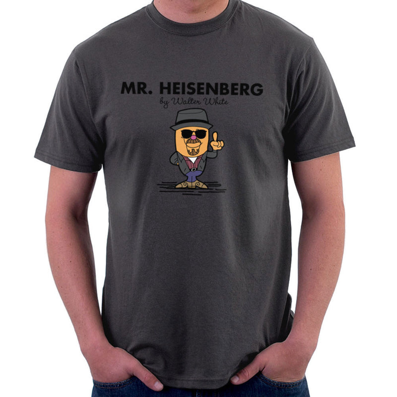 Mr Heisenberg By Walter White Breaking Bad Men's T-Shirt by TopNotchy - Cloud City 7