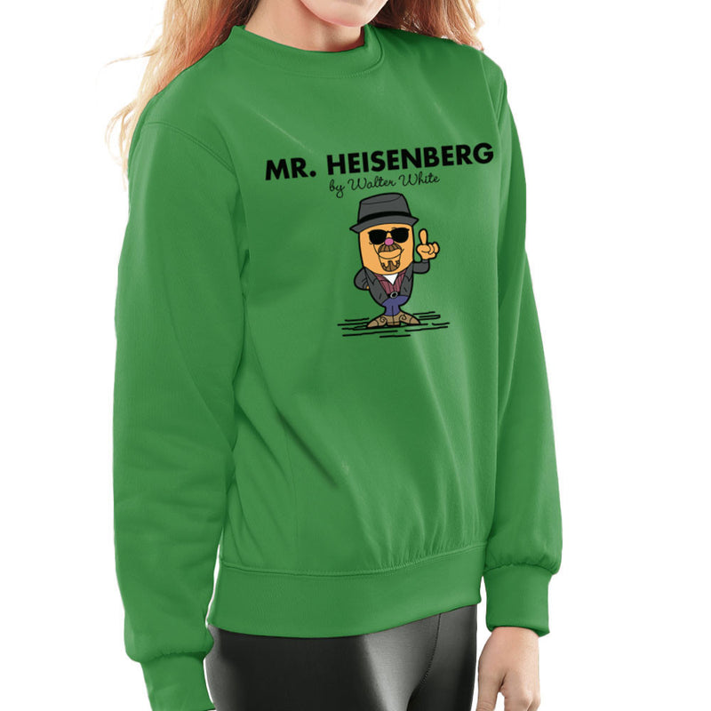 Mr Heisenberg By Walter White Breaking Bad Women's Sweatshirt by TopNotchy - Cloud City 7