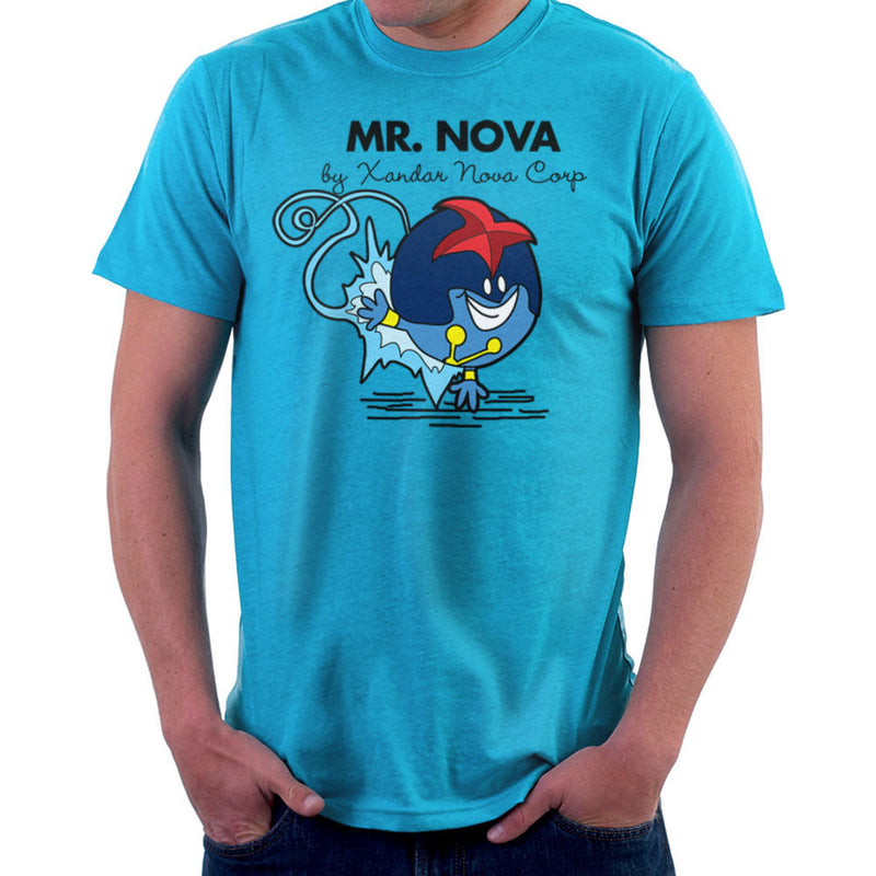 Mr Nova By Xander Nova Corp Prime Men's T-Shirt by TopNotchy - Cloud City 7