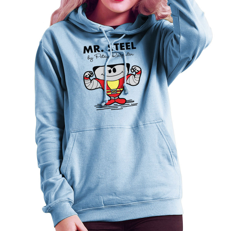 Mr Steel By Petey Rasputin Colossus X Men Women's Hooded Sweatshirt Women's Hooded Sweatshirt Cloud City 7 - 11