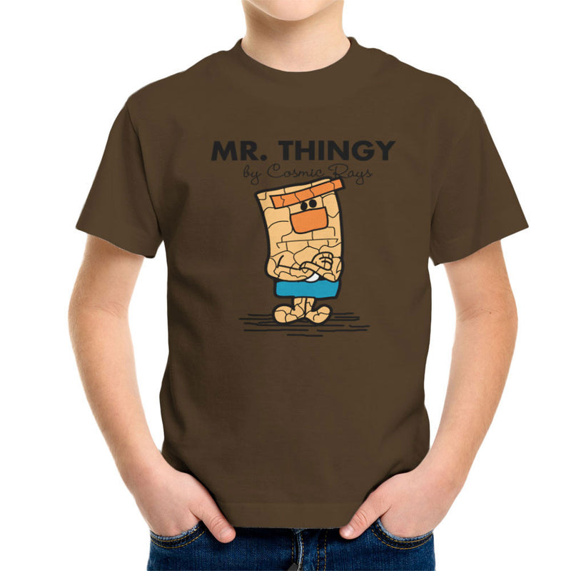 Mr Thingy By Cosmic Rays The Thing Fantasic Four Kid's T-Shirt Kid's Boy's T-Shirt Cloud City 7 - 12