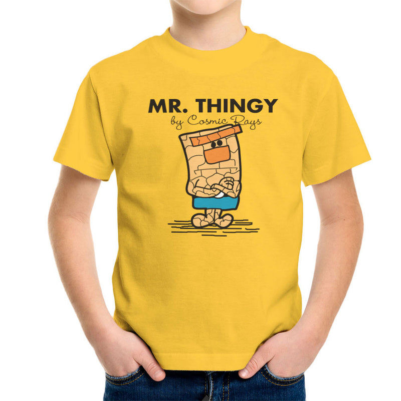 Mr Thingy By Cosmic Rays The Thing Fantasic Four Kid's T-Shirt Kid's Boy's T-Shirt Cloud City 7 - 17