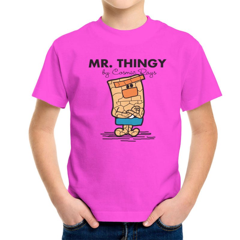 Mr Thingy By Cosmic Rays The Thing Fantasic Four Kid's T-Shirt Kid's Boy's T-Shirt Cloud City 7 - 19