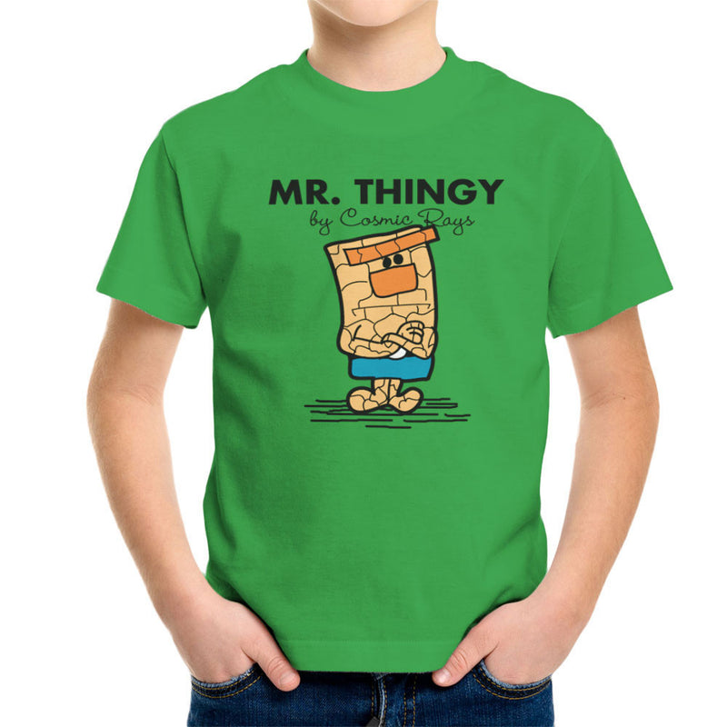 Mr Thingy By Cosmic Rays The Thing Fantasic Four Kid's T-Shirt Kid's Boy's T-Shirt Cloud City 7 - 14