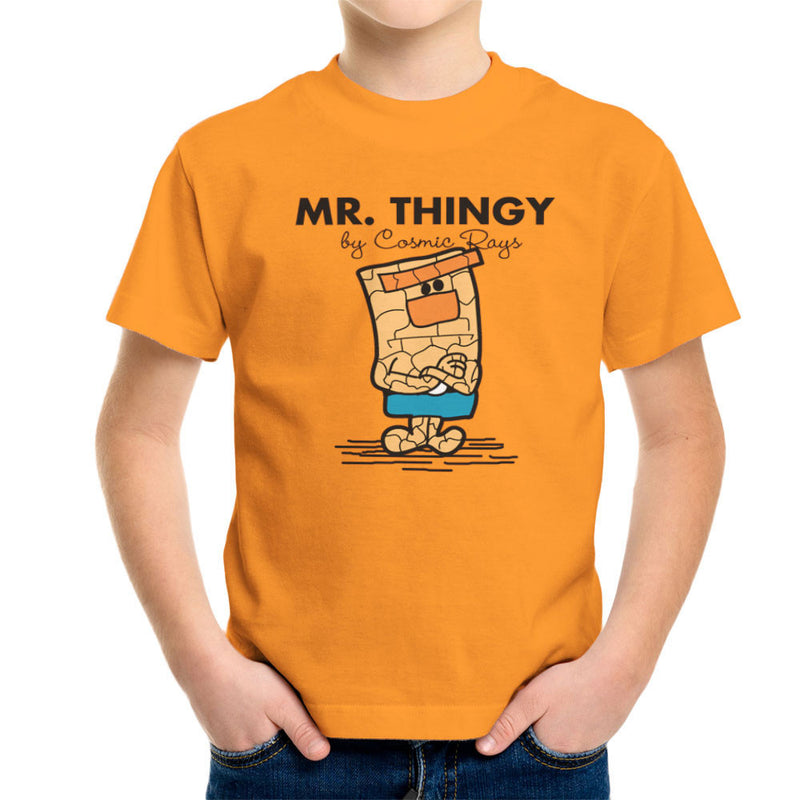 Mr Thingy By Cosmic Rays The Thing Fantasic Four Kid's T-Shirt Kid's Boy's T-Shirt Cloud City 7 - 16