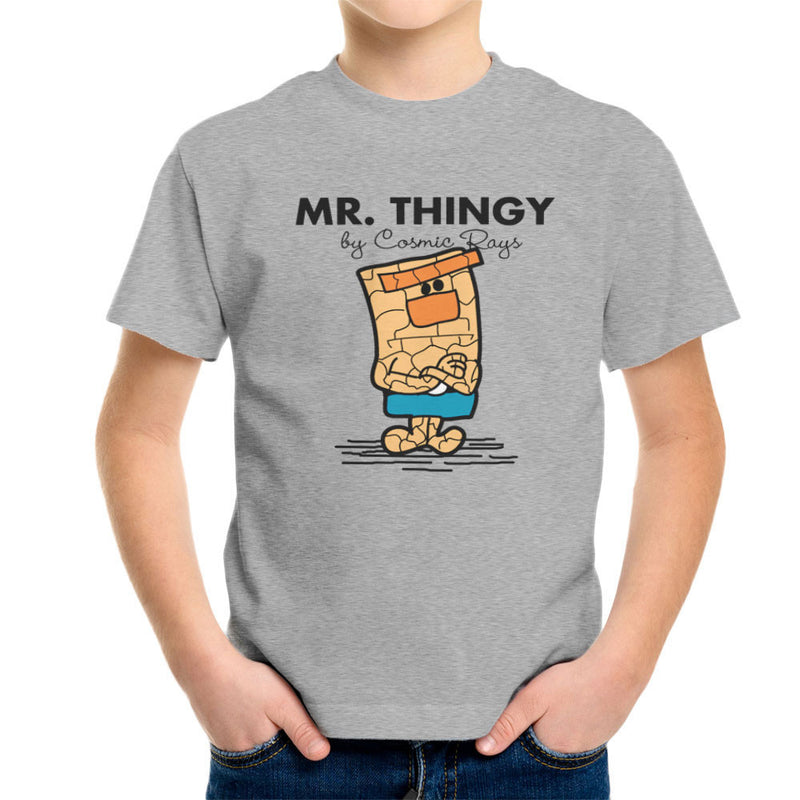 Mr Thingy By Cosmic Rays The Thing Fantasic Four Kid's T-Shirt Kid's Boy's T-Shirt Cloud City 7 - 1
