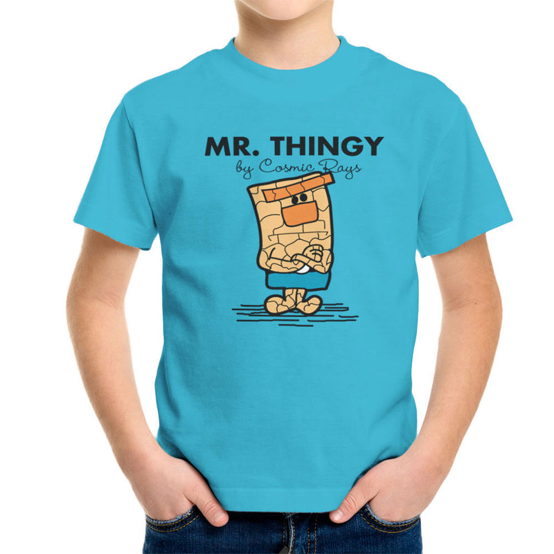 Mr Thingy By Cosmic Rays The Thing Fantasic Four Kid's T-Shirt Kid's Boy's T-Shirt Cloud City 7 - 10