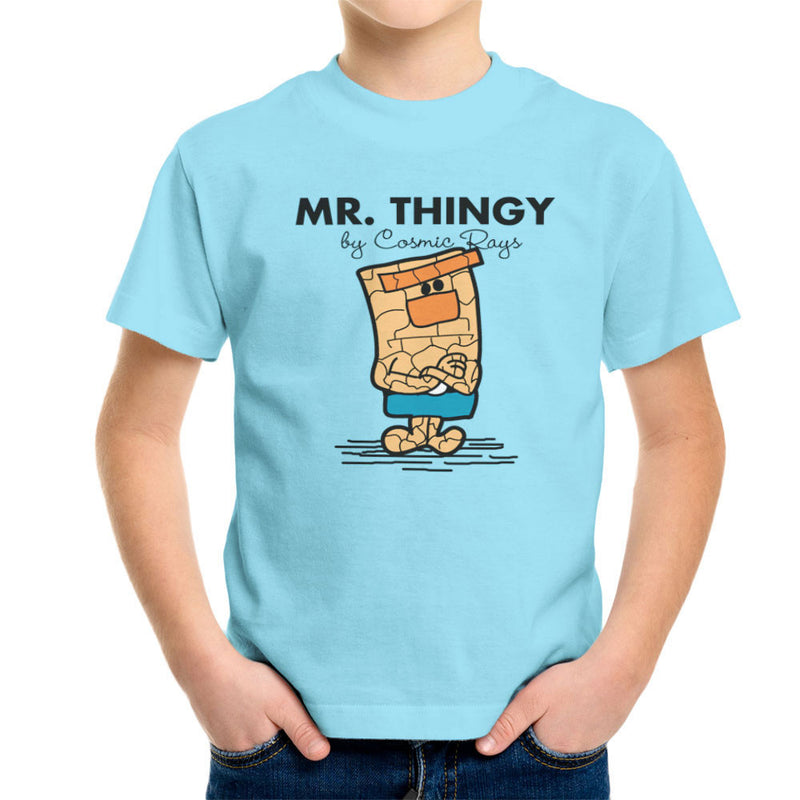 Mr Thingy By Cosmic Rays The Thing Fantasic Four Kid's T-Shirt Kid's Boy's T-Shirt Cloud City 7 - 11
