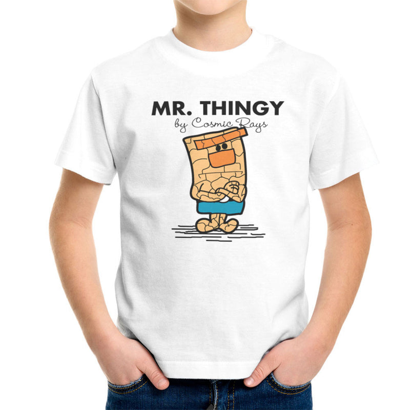 Mr Thingy By Cosmic Rays The Thing Fantasic Four Kid's T-Shirt Kid's Boy's T-Shirt Cloud City 7 - 6