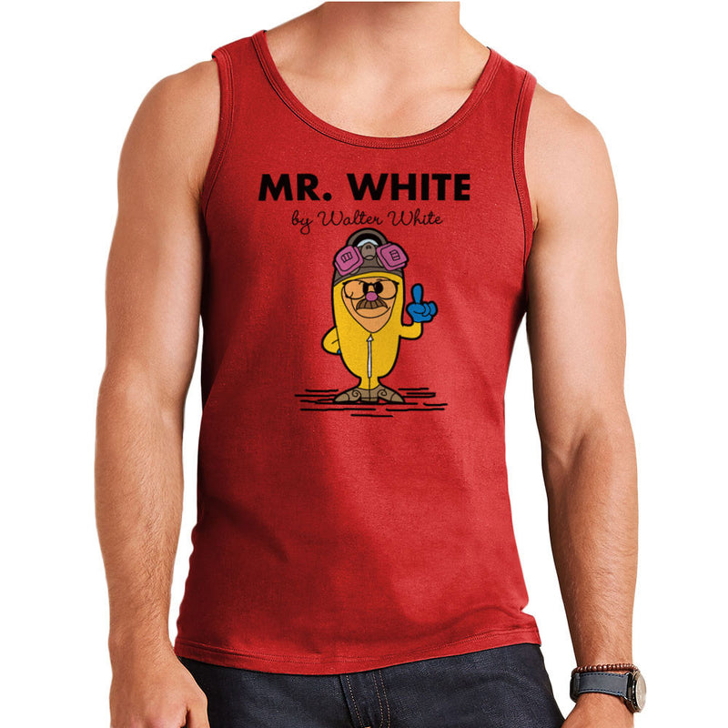 Mr White By Walter White Heisenberg Breaking Bad Men's Vest by TopNotchy - Cloud City 7
