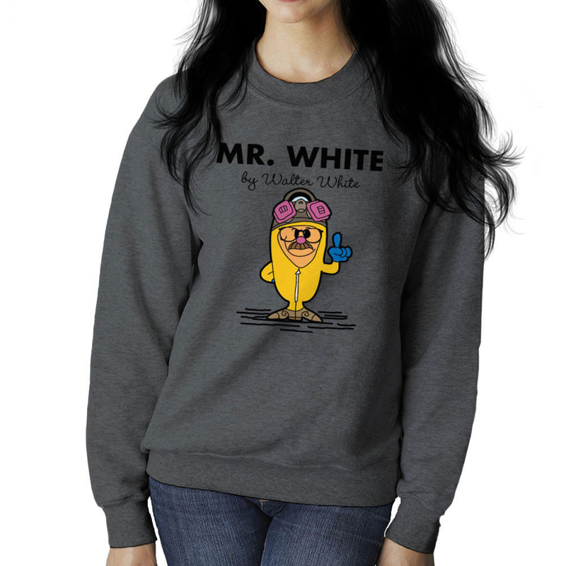Mr White By Walter White Heisenberg Breaking Bad Women's Sweatshirt by TopNotchy - Cloud City 7